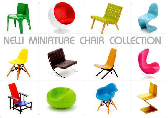 Vintage Miniature Chairs For Those Of Us Who Can T Afford The
