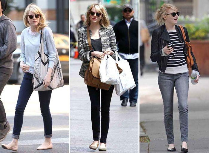 Style Icon Emma Stone 39 S Street Style Shoes She Likes