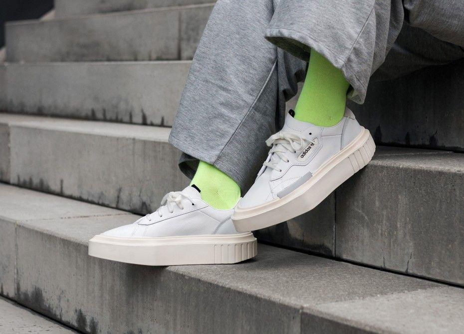 Adidas, White crystal, White