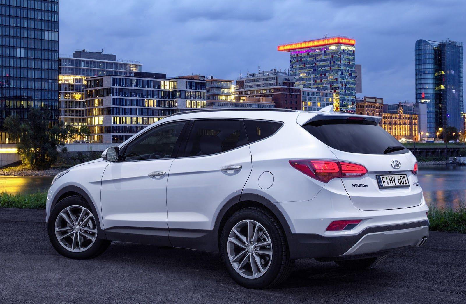 Facelifted 2017 Hyundai Santa Fe Unveiled Debuts In Frankfurt