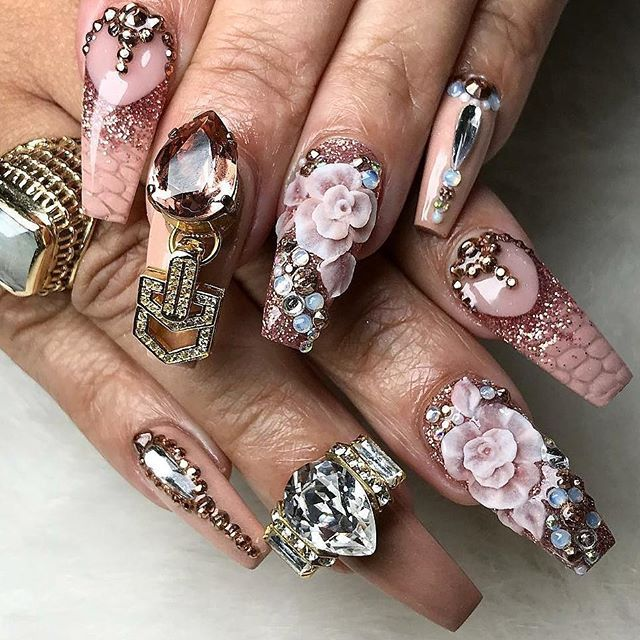 Pin by Ugly Duckling Nail Products on Extreme Nail Designs ...