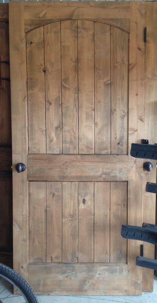 Rustic Interior Knotty Alder Door