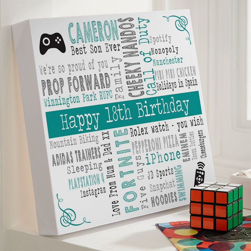 18th birthday gifts present ideas for men chatterbox