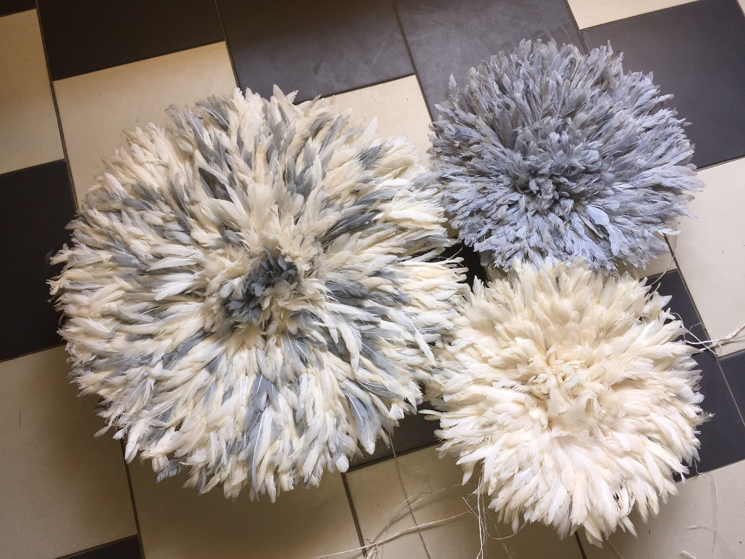 Set Of 3 Juju Hats To Beautify Your Home 1x60cm 2x40cm At Etsy Juju Hat Feather Headdress Juju