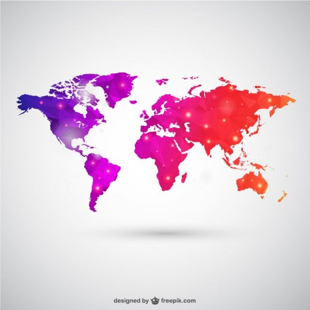 World map free vector template free vector maps pinterest world map free vector template free vector gumiabroncs Image collections
