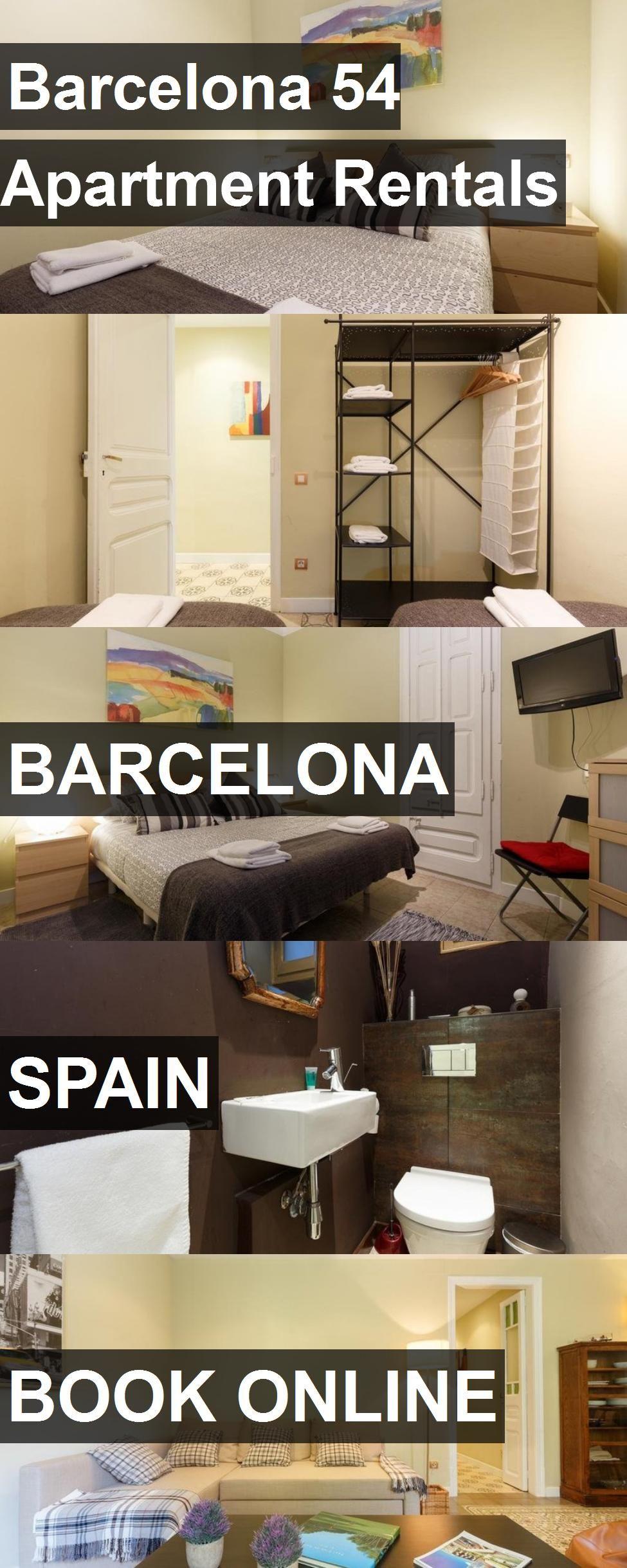 Barcelona 54 Apartment Rentals in Barcelona, Spain. For ...