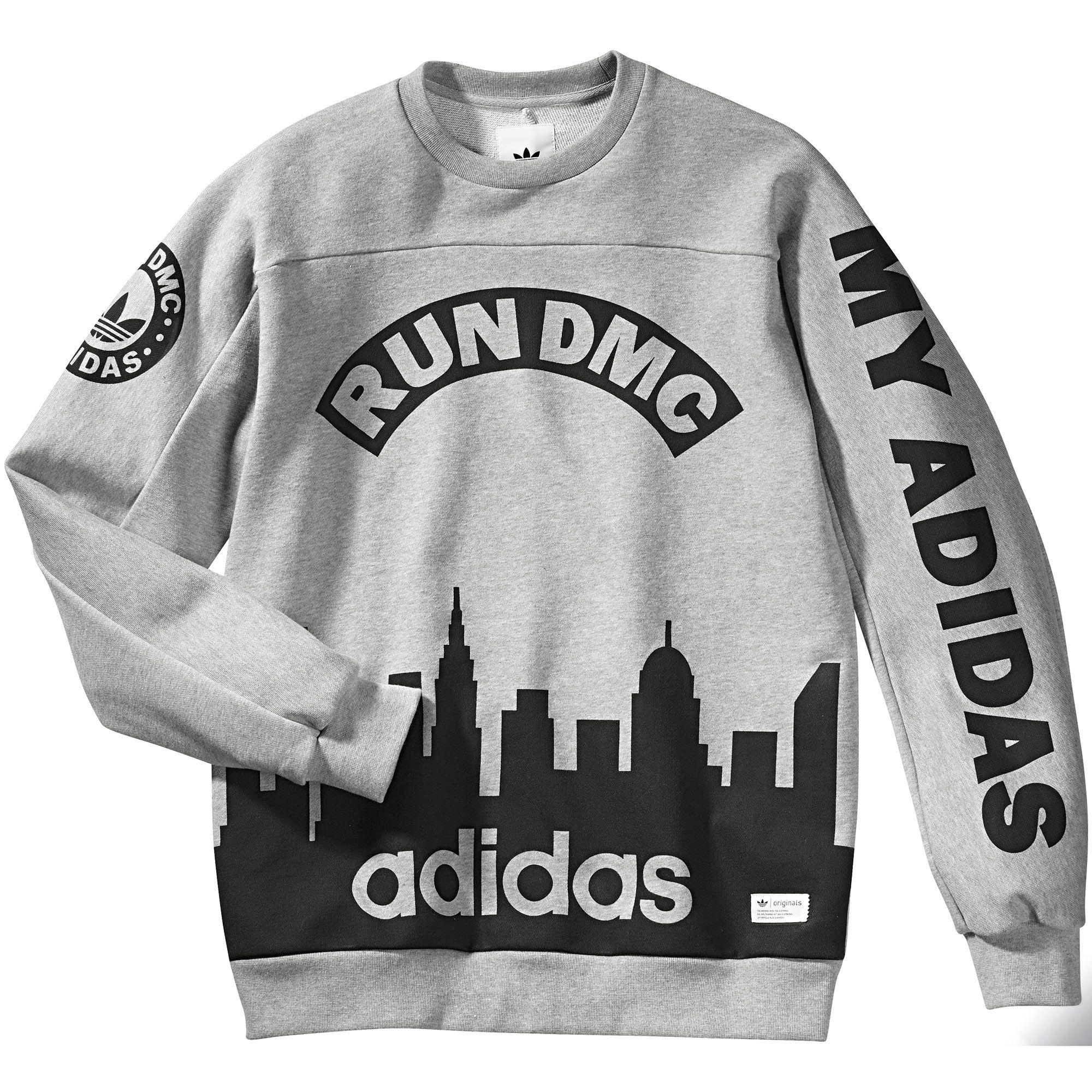 Adidas Suéter Run DMC  ba1ff0bd22801