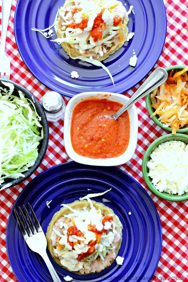 Como Hacer Sopes Paso A Paso Recetas De Comida Mexicana Comida