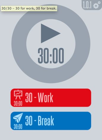 30 30 An App That Enhances Productivity Through Task Timing