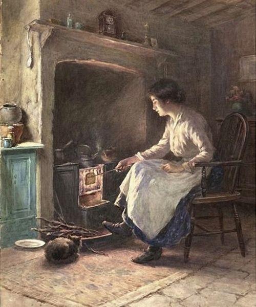 William Kay Blacklock 1872 1922 British Painter Images Vintage Art Tableau Art
