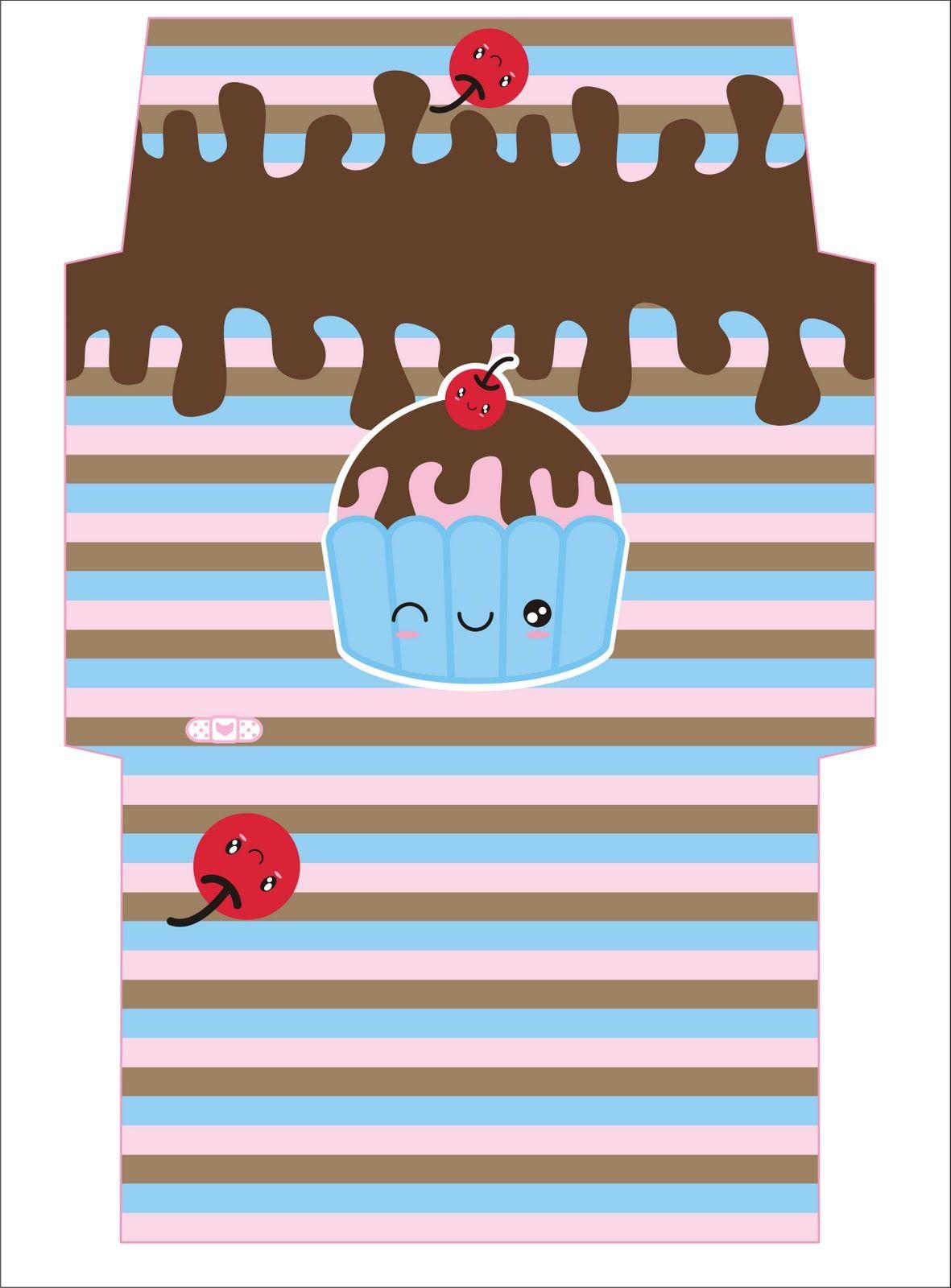 caja individual para #cupcake | Targetes i caixes | Pinterest ...
