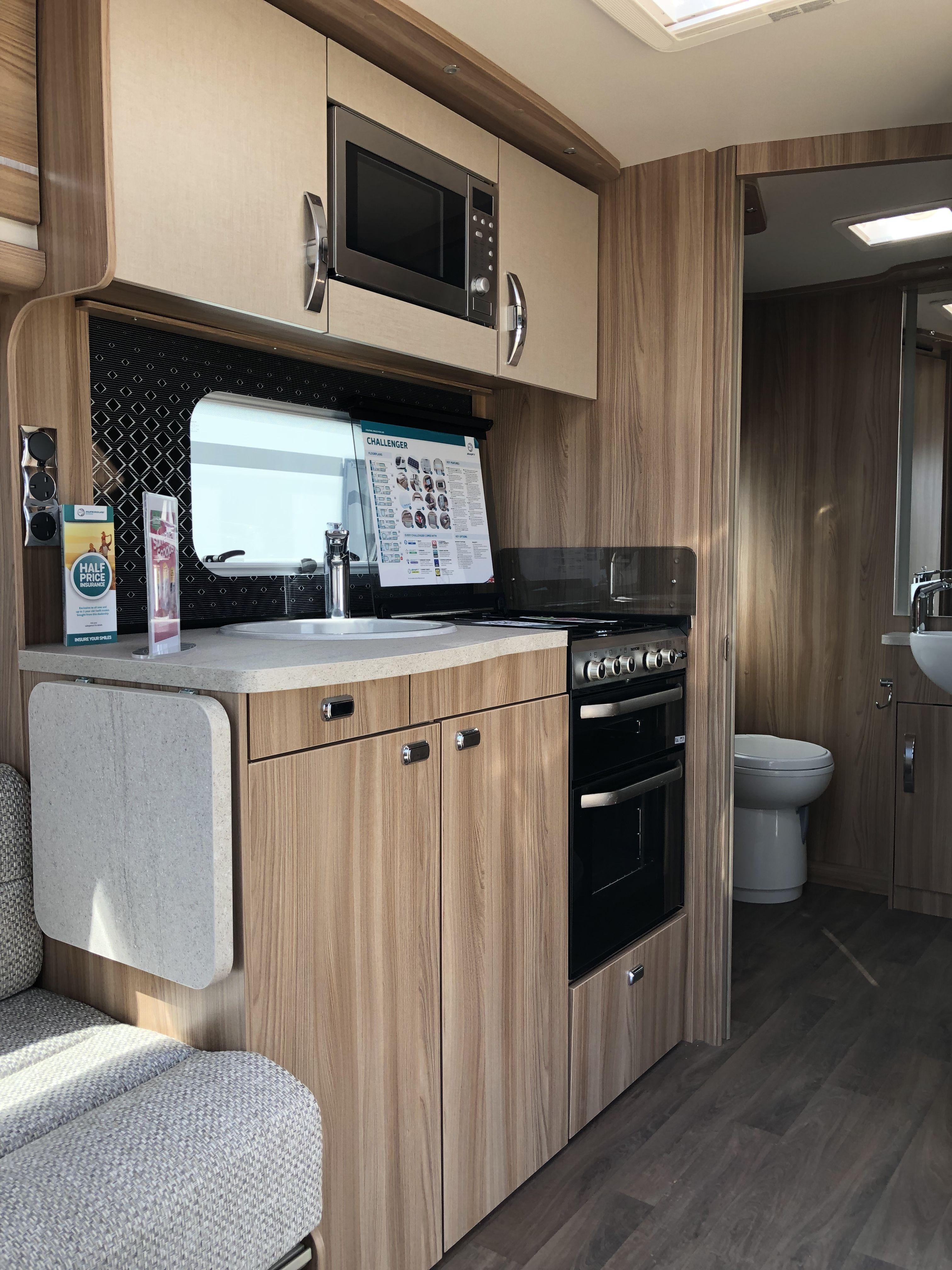 Kitchen image by Stuffannonsense on Caravans, little