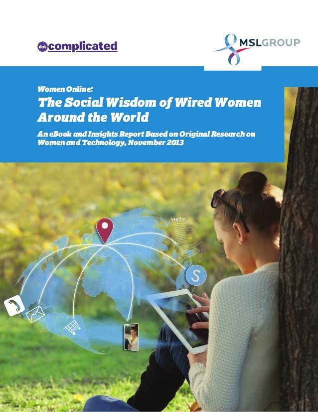 """E-Book """"The Social Wisdom of Wired Women Around the World"""" (study"""
