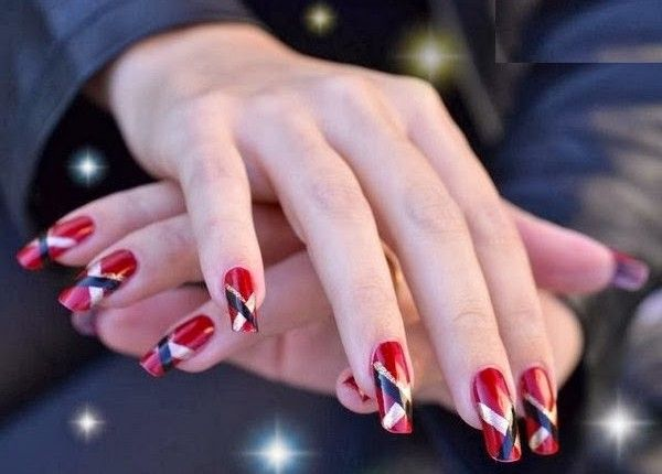 Latest Stylish Nails Designs Collection 2015