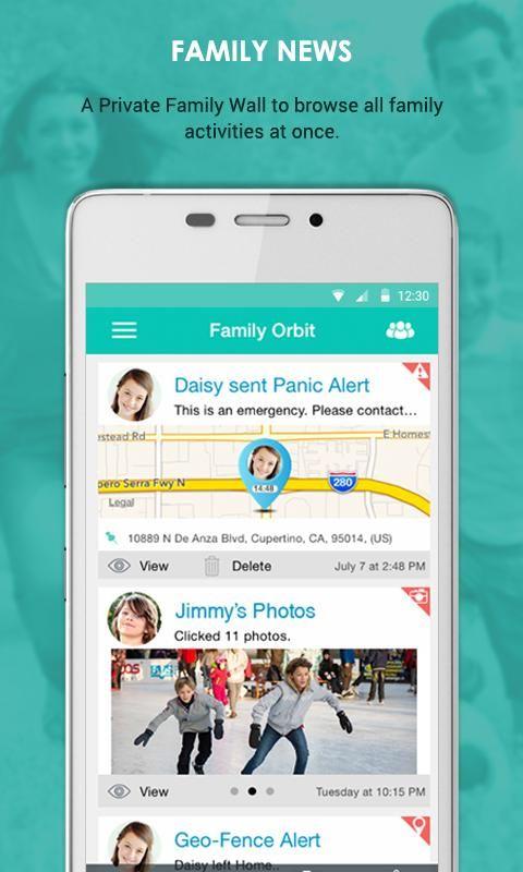 Sponsored App Review Family Orbit App Reviews Family Bulletin Boards Family News