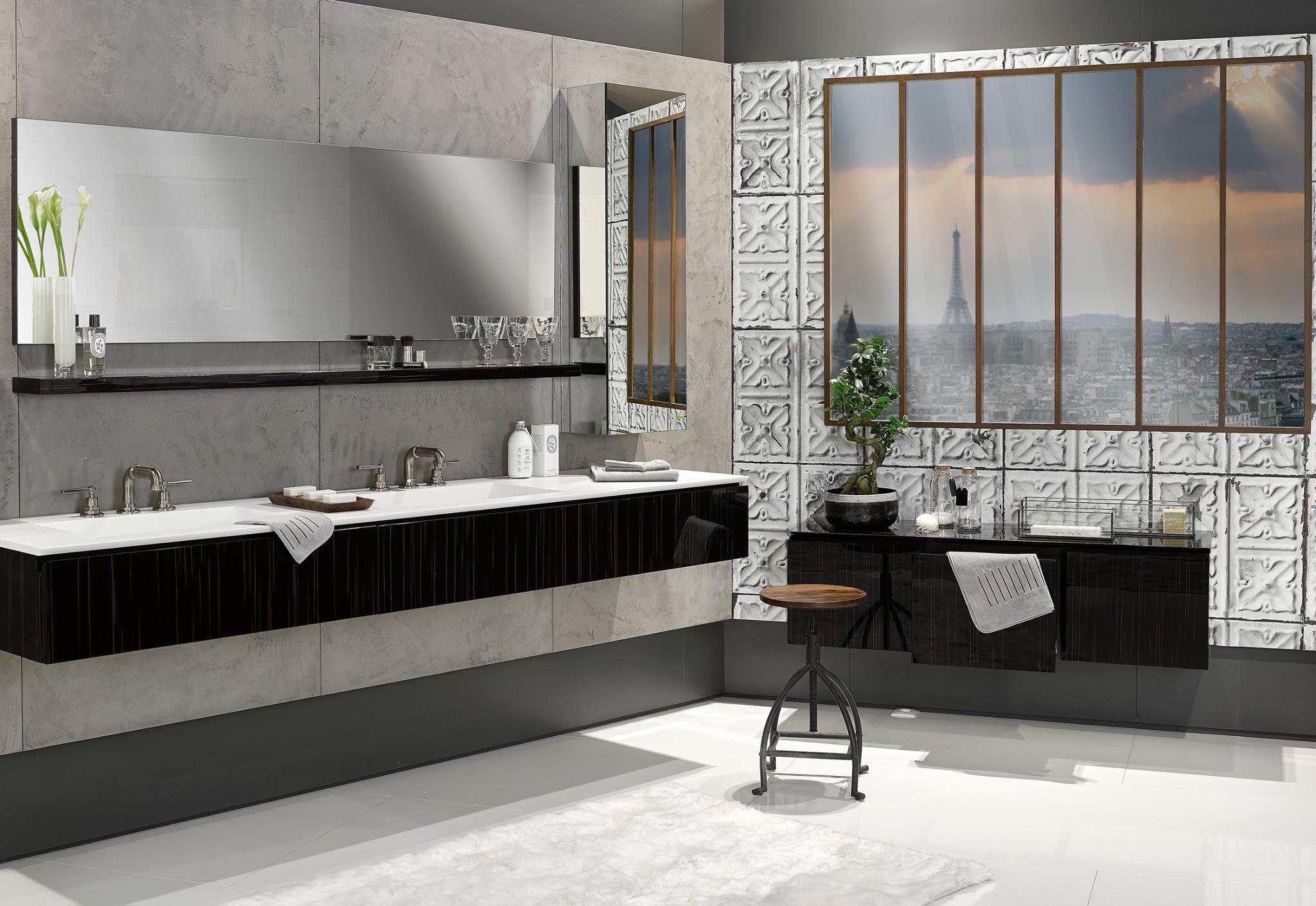 Salle De Bains Au Style Industriel Industrial Bathroom Loft Style