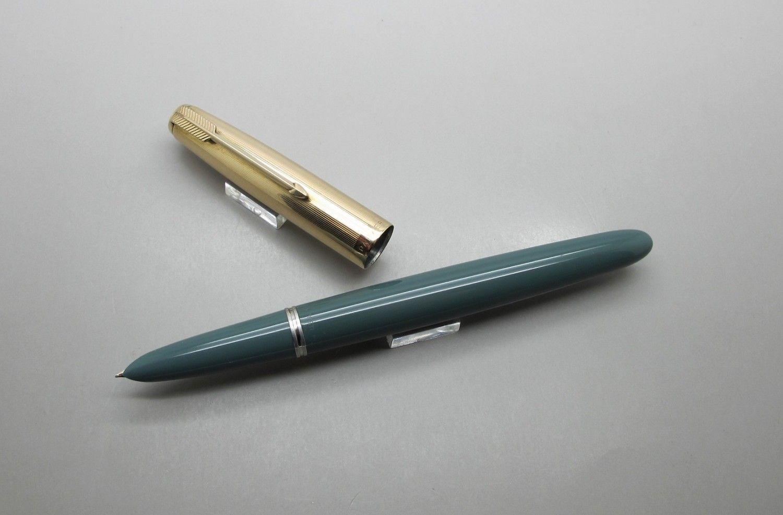 Pluma estilogr/áfica color azul y negro Platinum Preppy 05