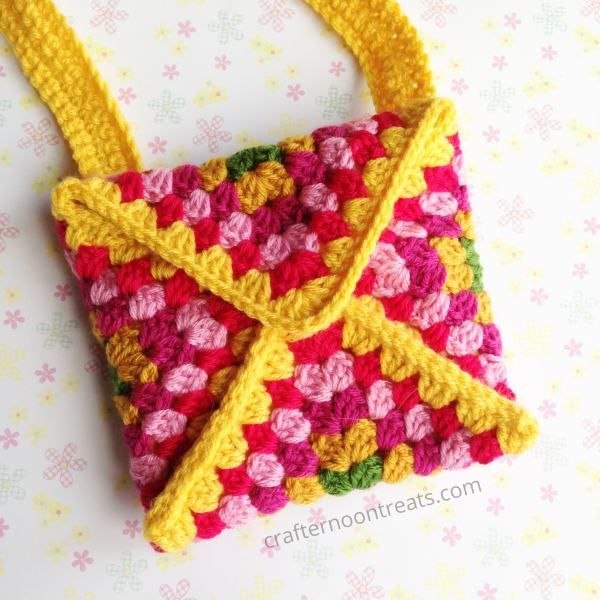 Granny Envelope Bag Crochet Bags Pinterest Envelopes Crochet