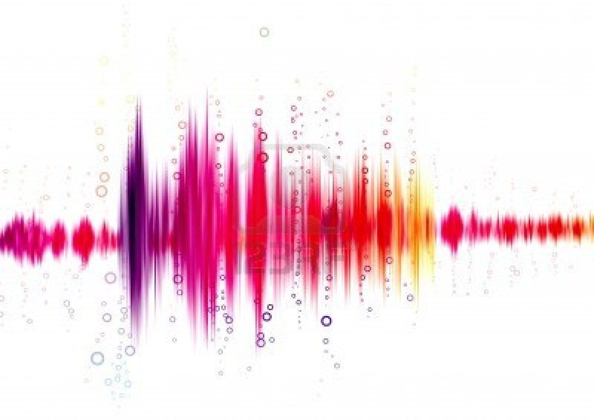Sound Waves Background Png