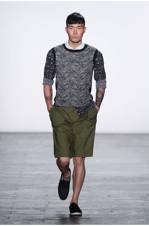 Vivienne Tam Primavera Verano 2016 | Spring Summer #Menswear #Trends #Tendencias #Moda Hombre - F.Y!