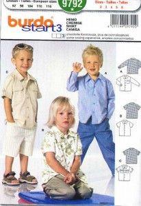 896d7016110eb0 koszulka dla chłopca - wykrój BURDA Wzory W Stylu Vintage, Mali Chłopcy, Wykroje  Sukienek