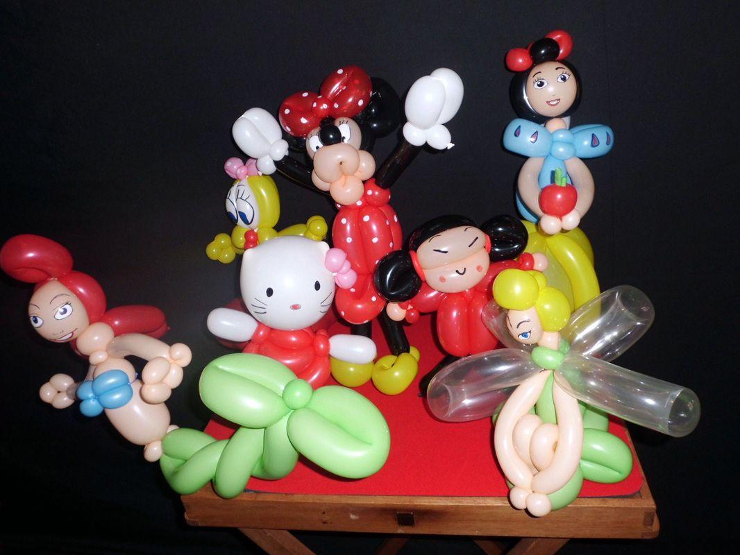 Figuras con globos para cumplea os de ni as la sirenita - Globos de cumpleanos ...