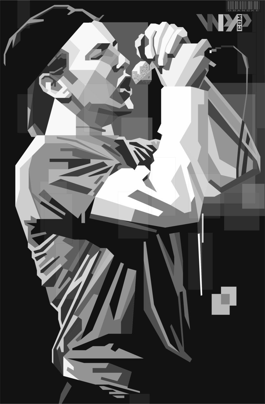 Eddie Vedder By Dbangke D5ajov9 Jpg 900 1371 Retratos Arte Pop Carteles De Rock Arte Pop