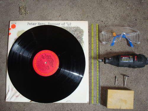 Vinyl Record Cutouts Vinyl Record Crafts Vinyl Records Diy Record Crafts