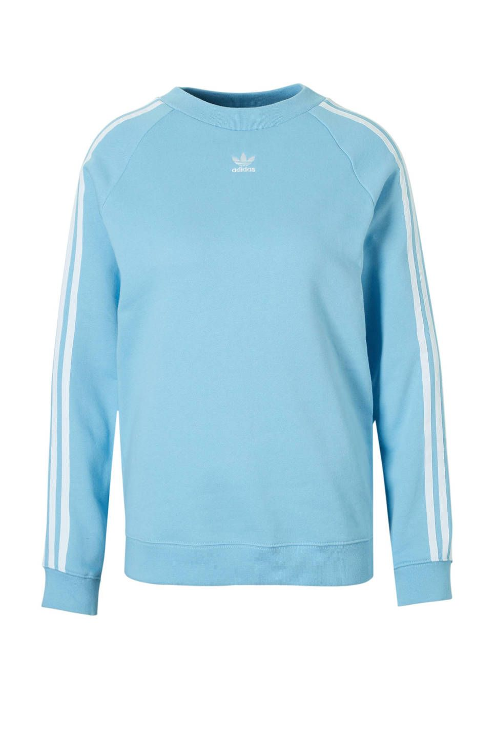 Sweater lichtblauw | Trui, Sweater, Addidas