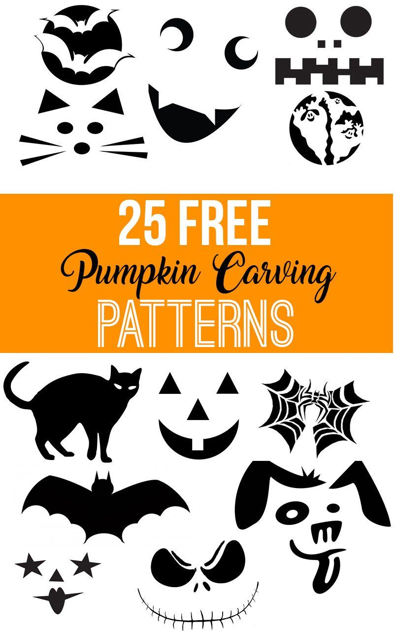 Free Printable Pumpkin Carving Patterns Halloween Jack O Lantern Pd Printable Pumpkin Carving Patterns Pumpkin Carving Patterns Pumpkin Carving Stencils Free