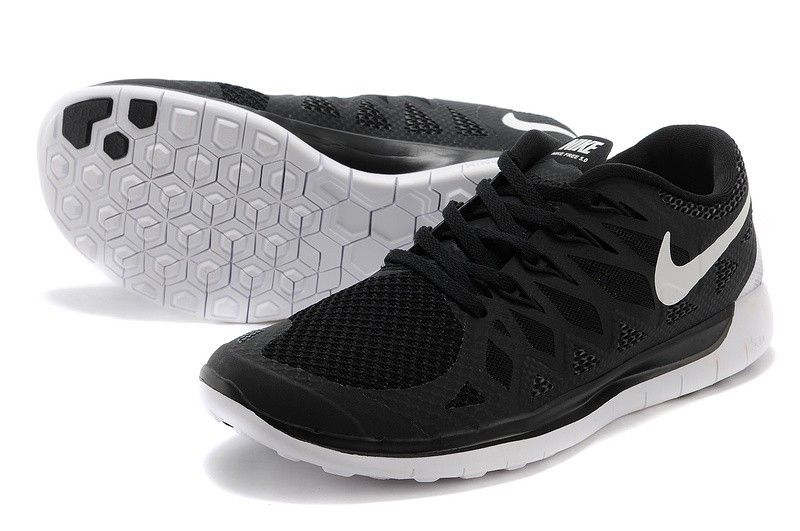 0fb24586 Ny Dame Nike Free 5.0 Sort Sko On Salg[Varmt02] | parkour | Nike ...
