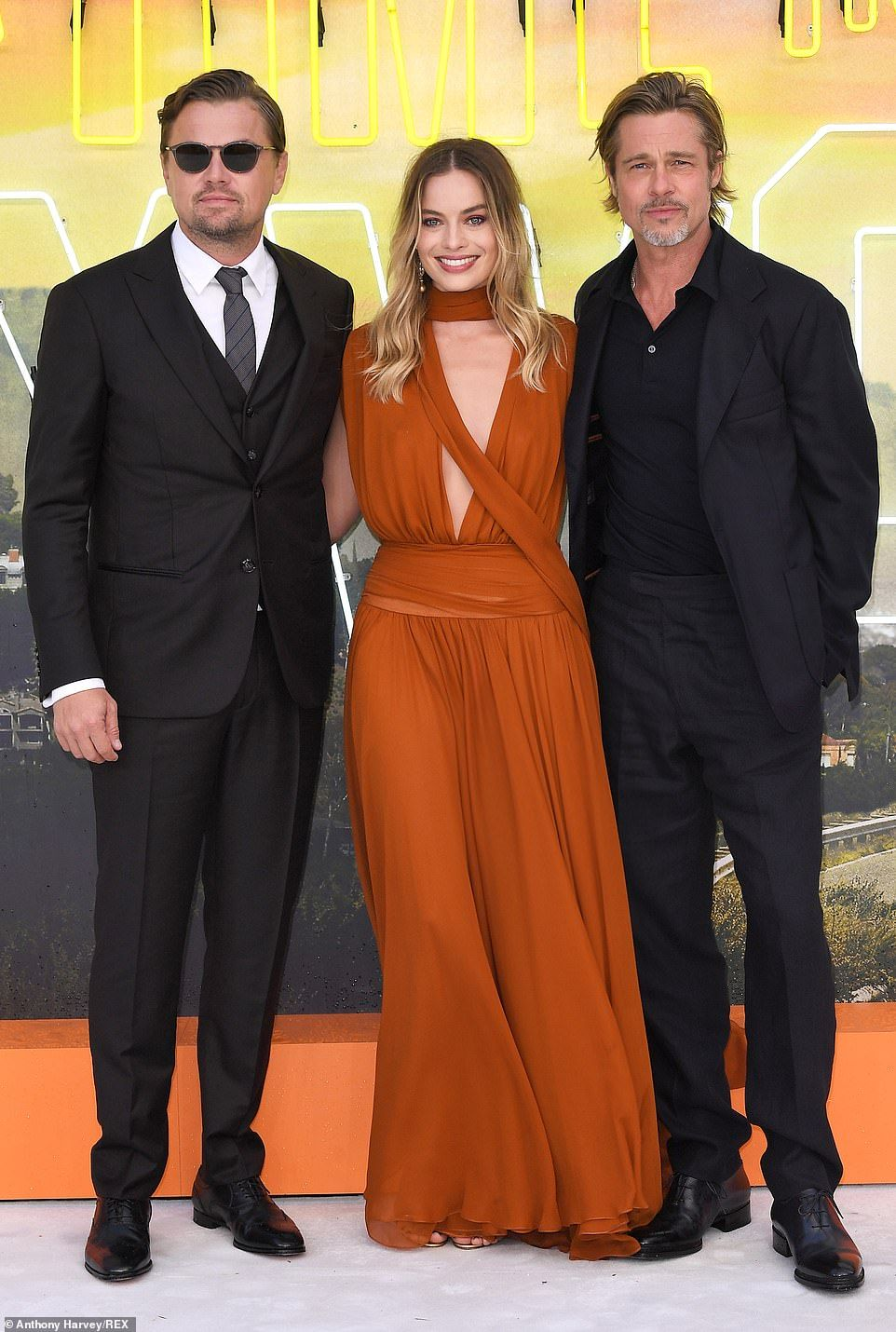 Margot Robbie At Once Upon A Time In Hollywood Premiere In London