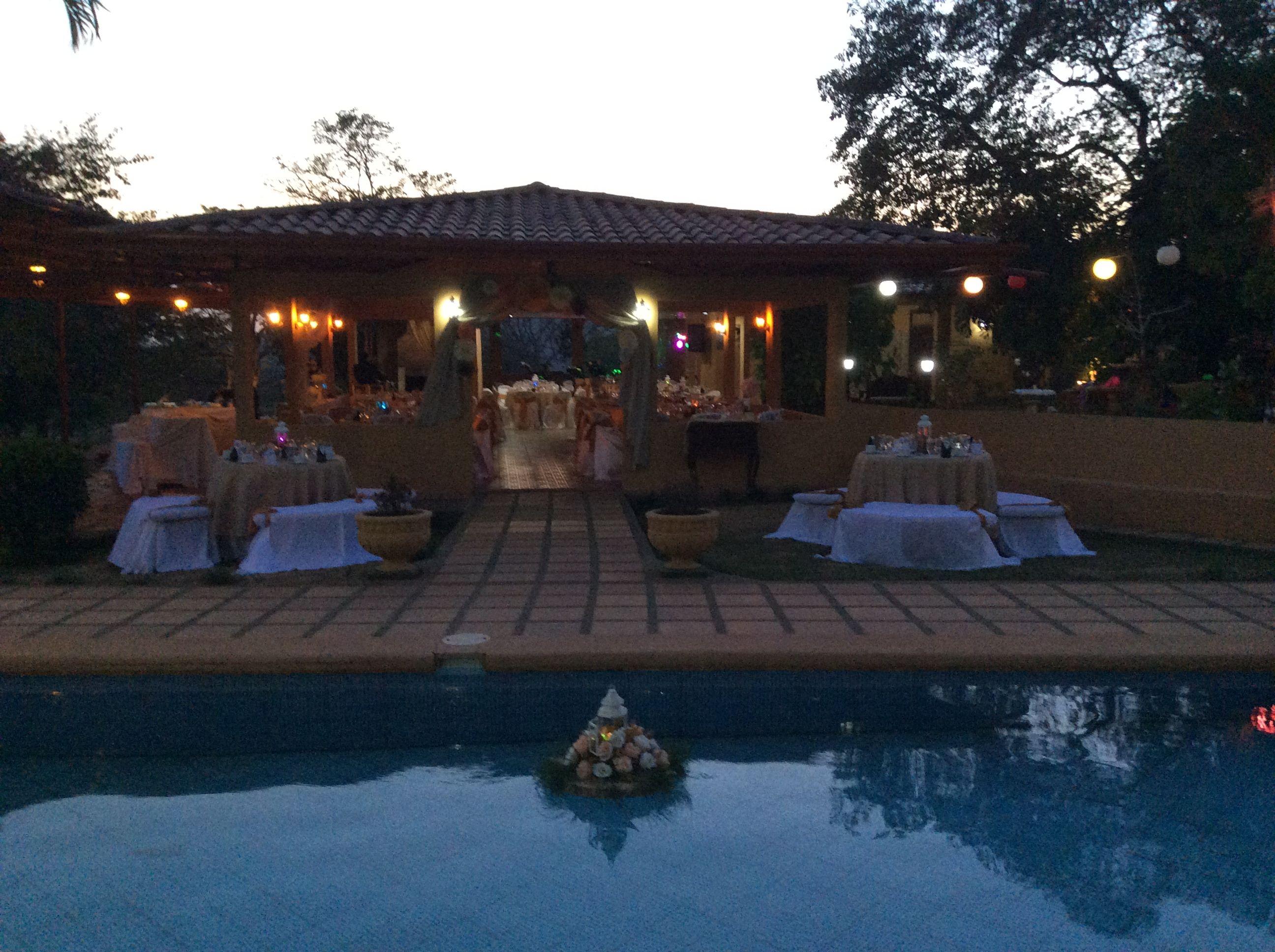 wedding pool   Pool wedding, Outdoor decor, Pool