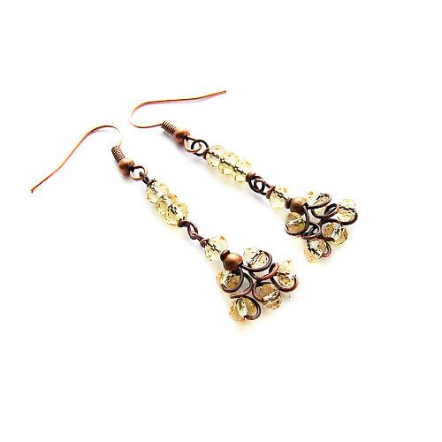 Easy Jewelry Tutorial Beginner Earrings By Kicafika 3 00