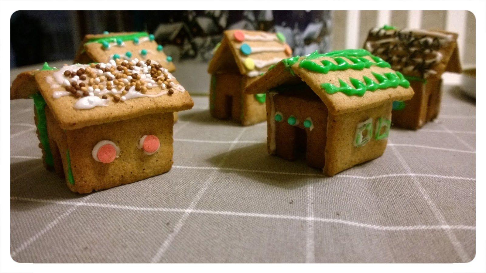 Pienin askelin: Piparit ja pikkutalot