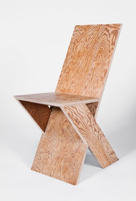Micheal Boyd \'Plank\' side chair from the PLANK series 2011 | Stools ...