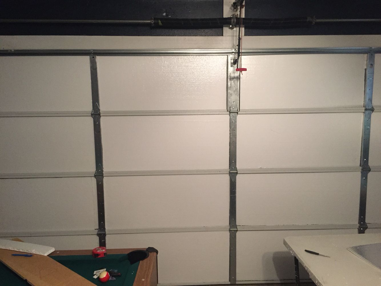 Diy Garage door insulation image by Albert Robinson Diy