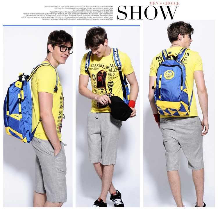 Backpack for Women and Men Luggage & Travel Bags Sports School Bag Dropshipping Support