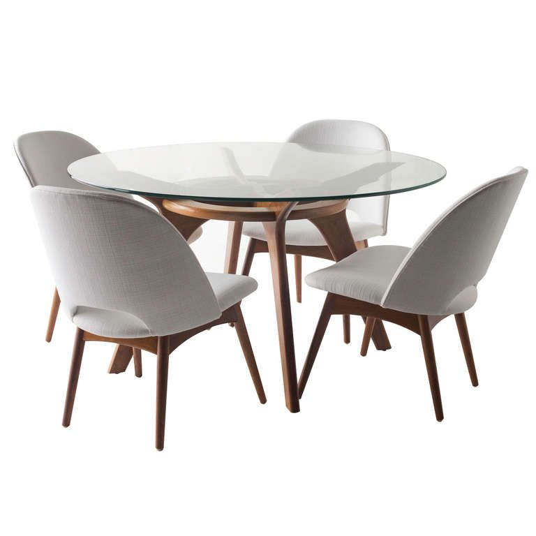 Adrian Pearsall Game Table And Chairs For Craft Associates Midcentury Modern Dining Chairs Game Table And Chairs Modern Dining Room Set