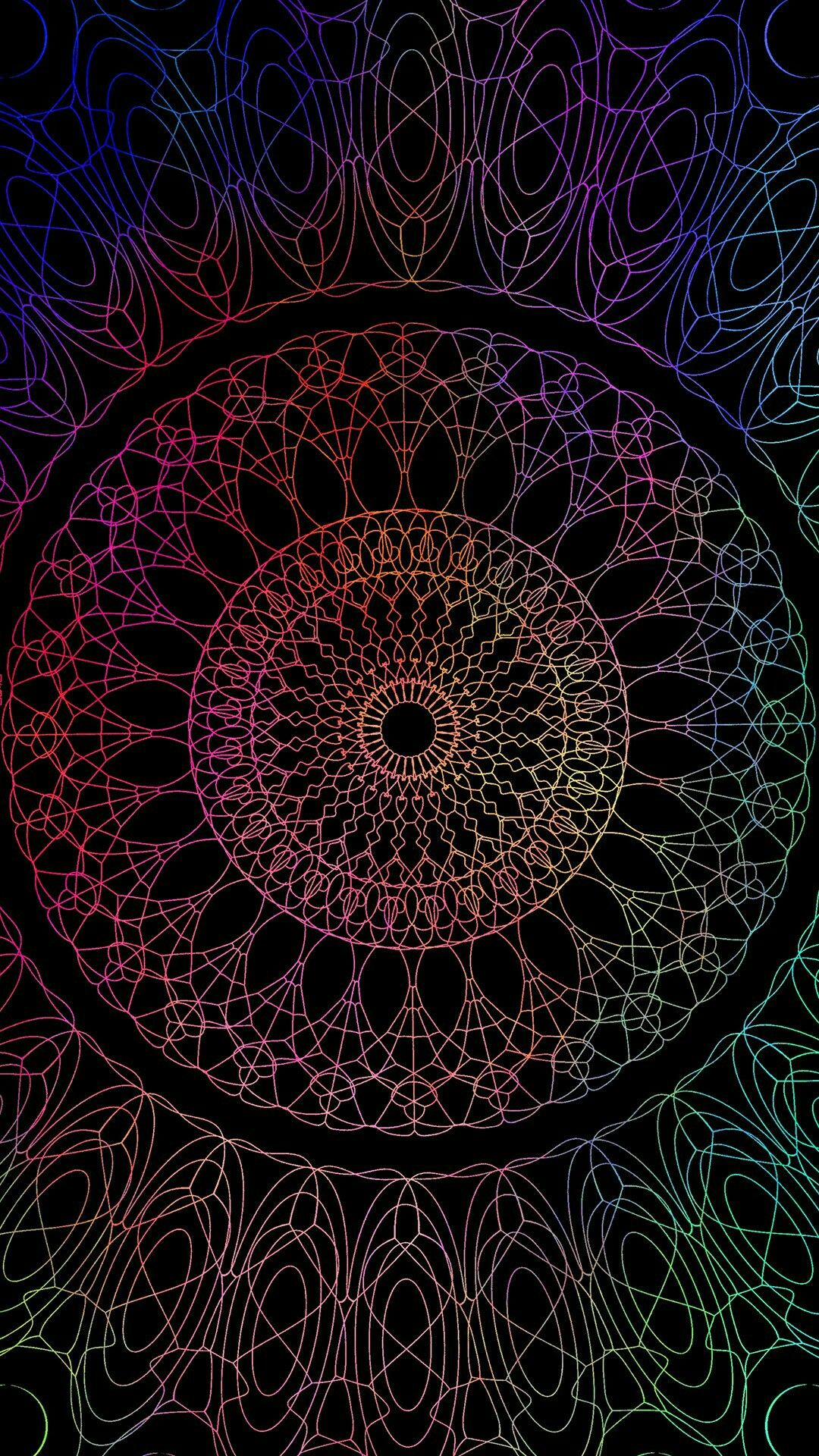 Mandala Wallpaper Lockscreen Wallpaper Ideas Ios Android