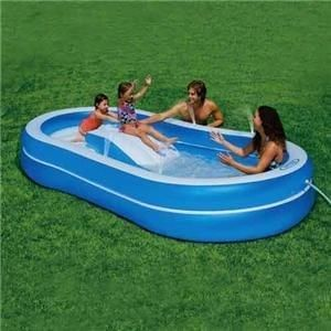 Kids Pools With Slides plastic pool..kids pool..small swimming pools | children's parties