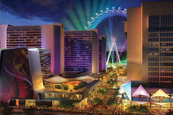 At The Center Of The Strip The Linq Hotel Experience Offers A