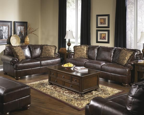 Stephanie - Sofa Loveseat Chair and a Half Ottoman Set 4pcs – Outfit ...