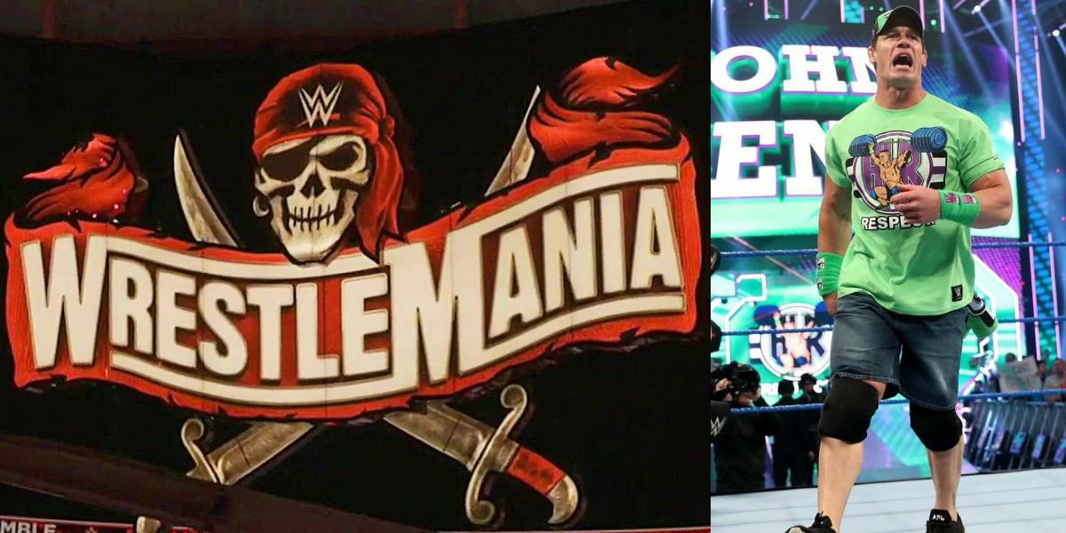 Wwe Rumors Roundup Wrestlemania 37 Main Event Spoiler John Cena Miss Wrestlemania 37 And More In 2021 Wrestlemania Wwe John Cena