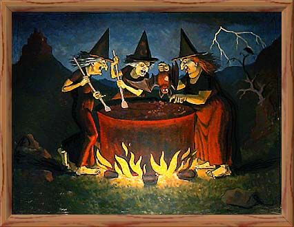Harry Potter Choir Double Trouble With Lyrics Witch Pictures Three Witches Macbeth Witches