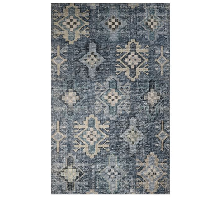 Clarion Eco Friendly Indoor Outdoor Rug Cool Multi Pottery