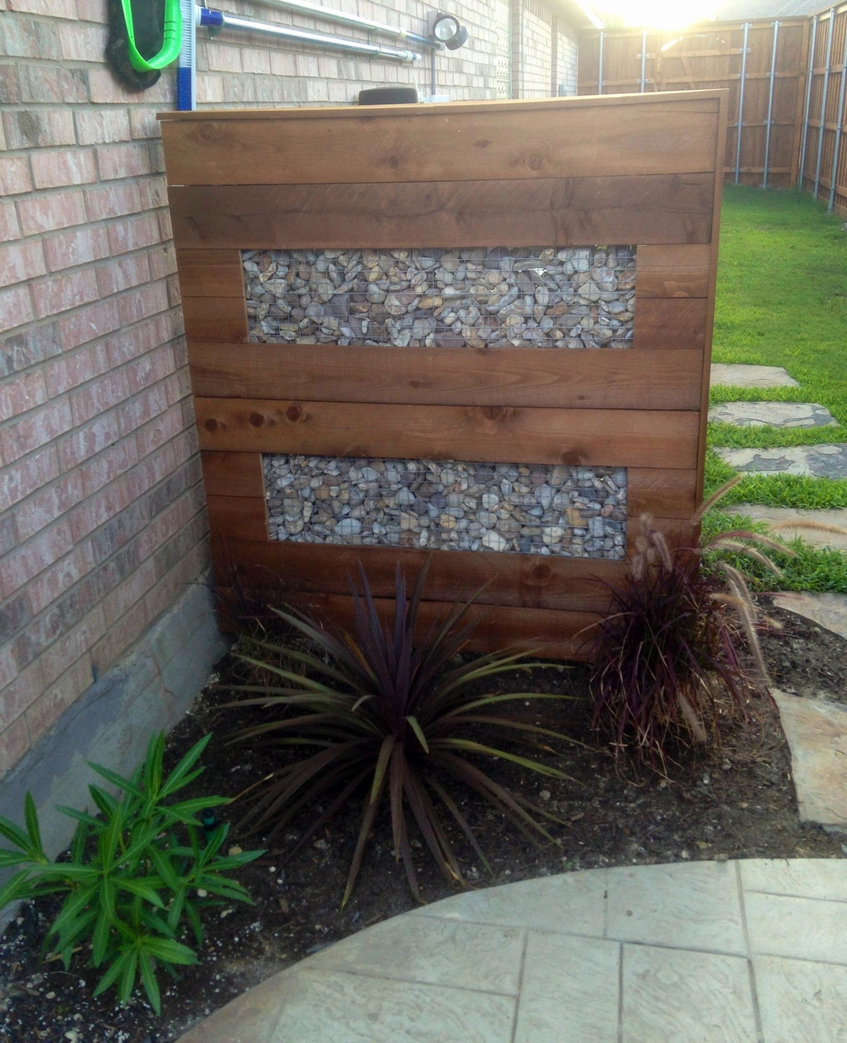 Landscape Ideas to Hide Utility Boxes Privacy screen