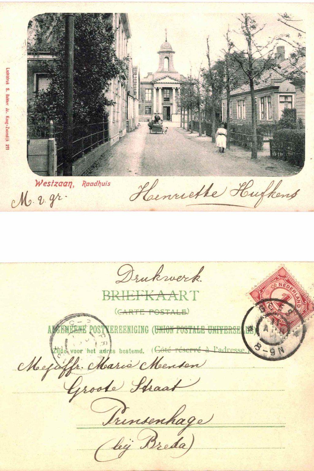 Westzaan 1905