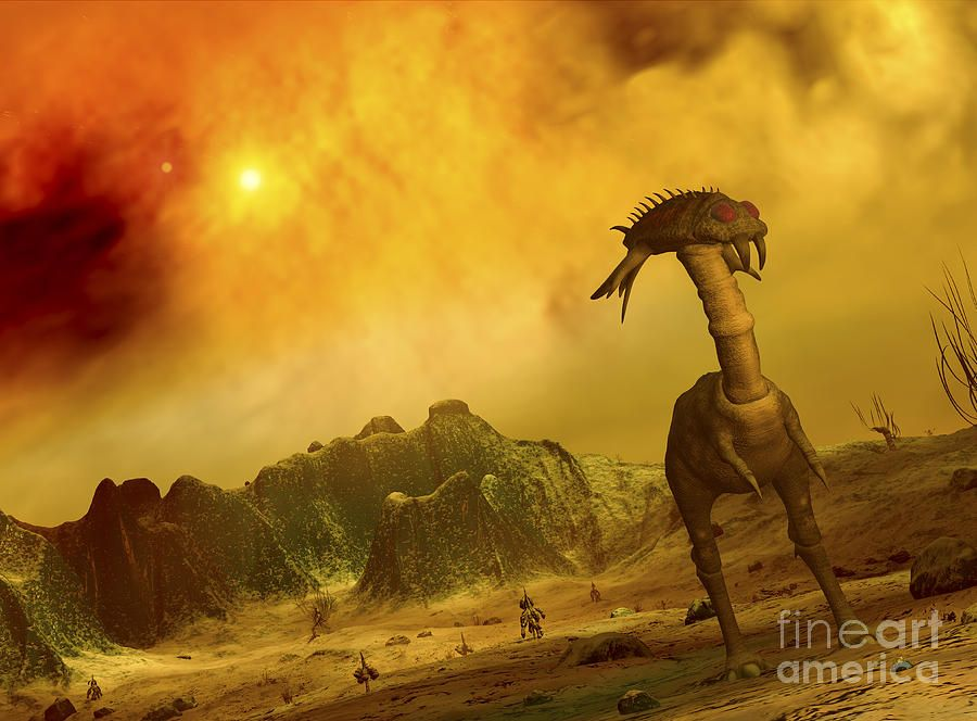 Alien planet art | Aliens Planet Art | Pinterest | Aliens ...