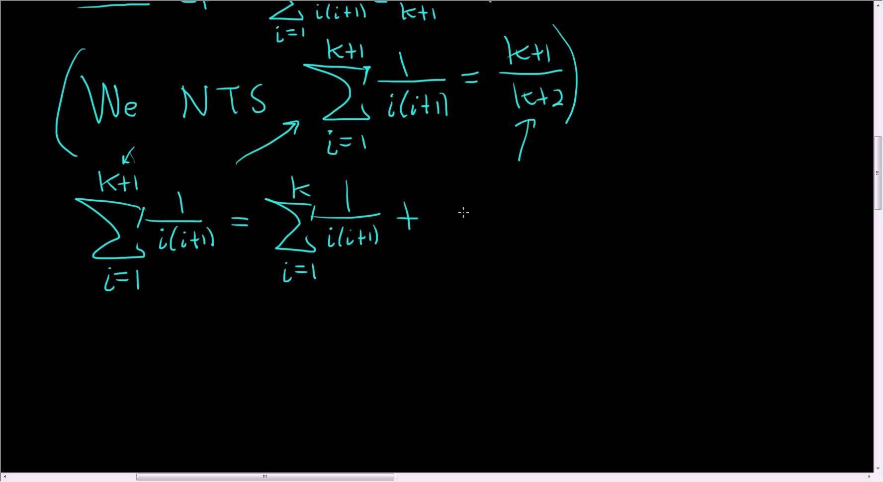 Principle Of Mathematical Induction Sum 1 I I 1 I